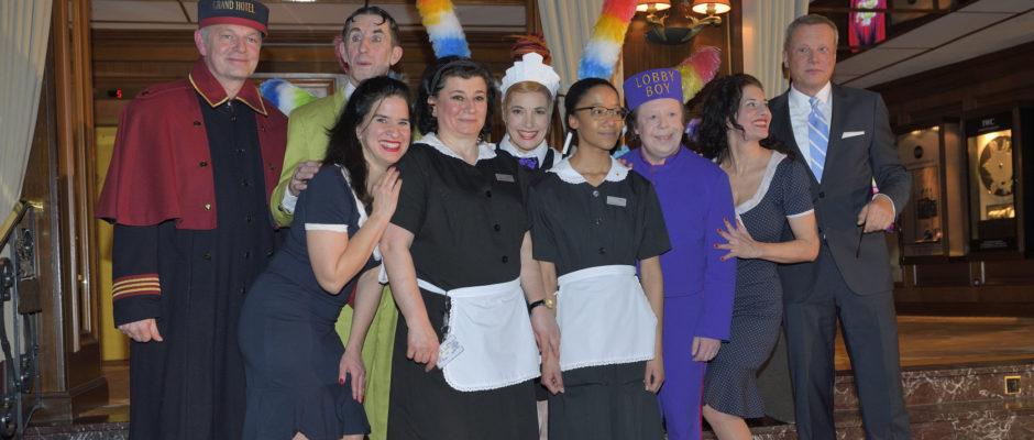 GOP Variete Theater Presse Event Hotel Vier Jahreszeiten