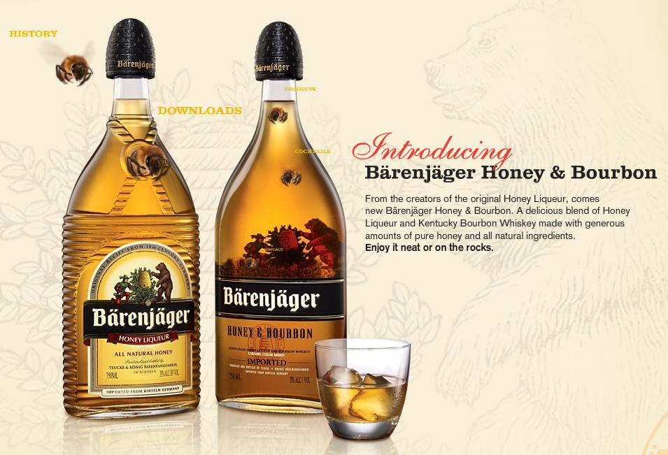 Bärenjäger Honey Bourbon